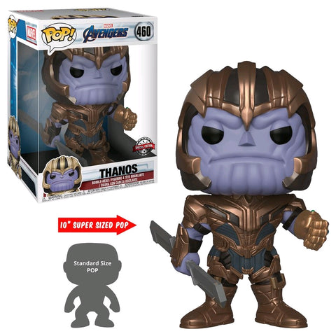 "Avengers 4 Endgame- Thanos 10"" Pop! Vinyl"