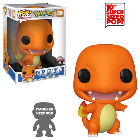 "Pokemon - Charmander 10"" US Exclusive Pop! Vinyl"