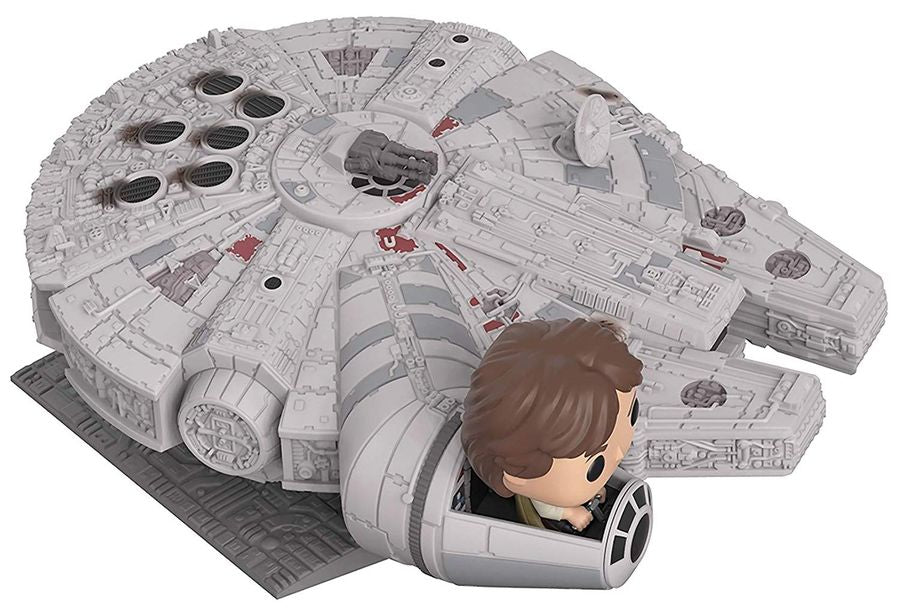 Star Wars - Han Solo Millennium Falcon US Exclusive Pop! Deluxe