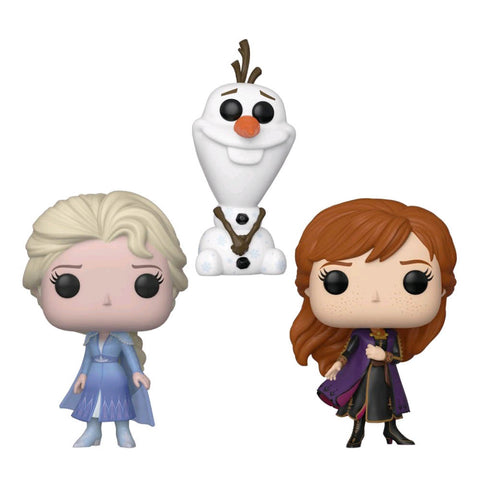 Frozen II - Elsa, Olaf & Anna US Exclusive Pop! Vinyl 3-pack