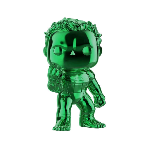 "Avengers 4: Endgame - Hulk Green Chrome 6"" US Exclusive Pop! Vinyl"