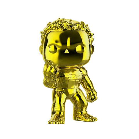 "Avengers 4: Endgame - Hulk Yellow Chrome 6"" US Exclusive Pop! Vinyl"