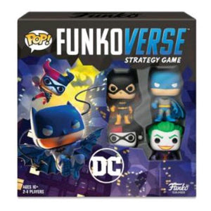 Funkoverse - Batman 4-pack Strategy Board Game
