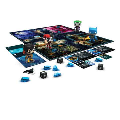 Image of Funkoverse - Batman 4-pack Strategy Board Game