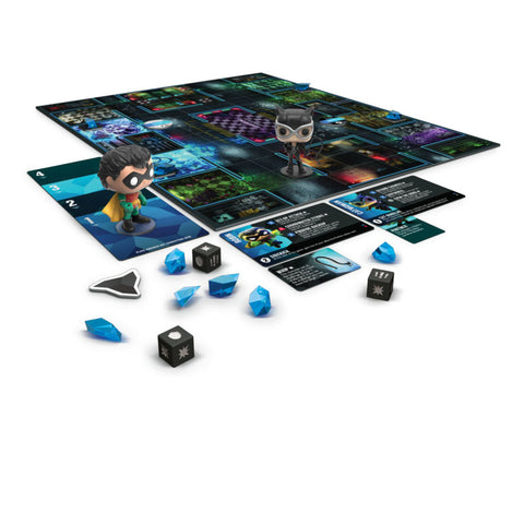 Image of Funkoverse - Batman 2-Pack Expandalone Strategy Board Game