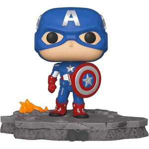 Avengers - Captain America (Assemble) US Exclusive Pop! Deluxe