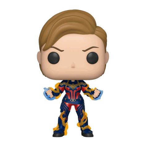 Avengers 4: Endgame - Captain Marvel New Hair Pop! Vinyl