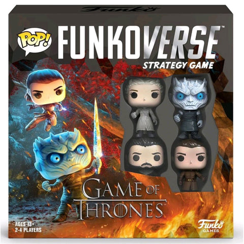 Funkoverse - Game of Thrones 100 4-pack Board Game