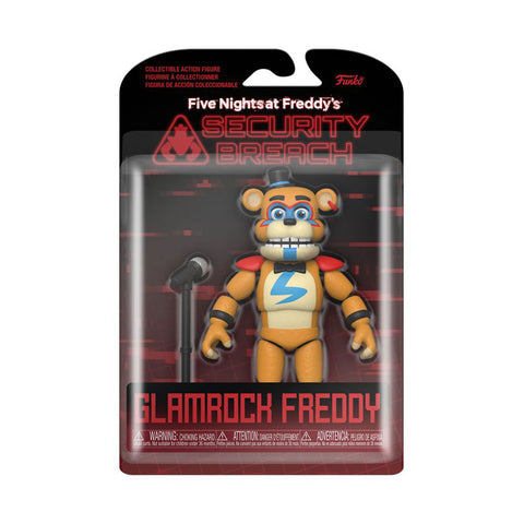Image of Five Nights at Freddy's: Security Breach - Glamrock Freddy Figure