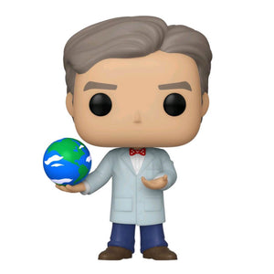 Icons - Bill Nye with Globe US Exclusive Pop! Vinyl
