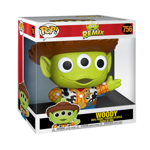"Pixar - Alien Remix Woody 10"" Pop! Vinyl"