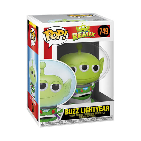 Image of Pixar - Alien Remix Buzz Pop! Vinyl