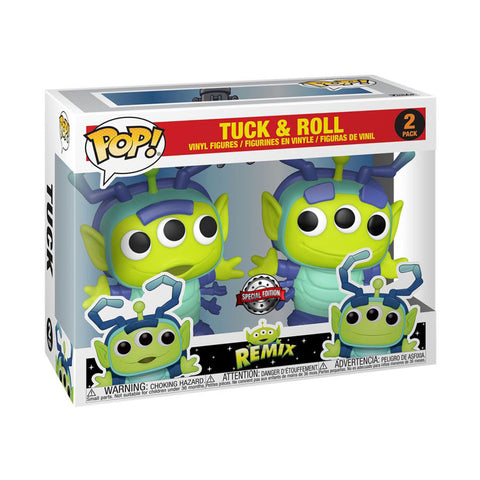 Image of Pixar - Alien Remix Tuck & Roll US Exclusive Pop! Vinyl 2-Pack