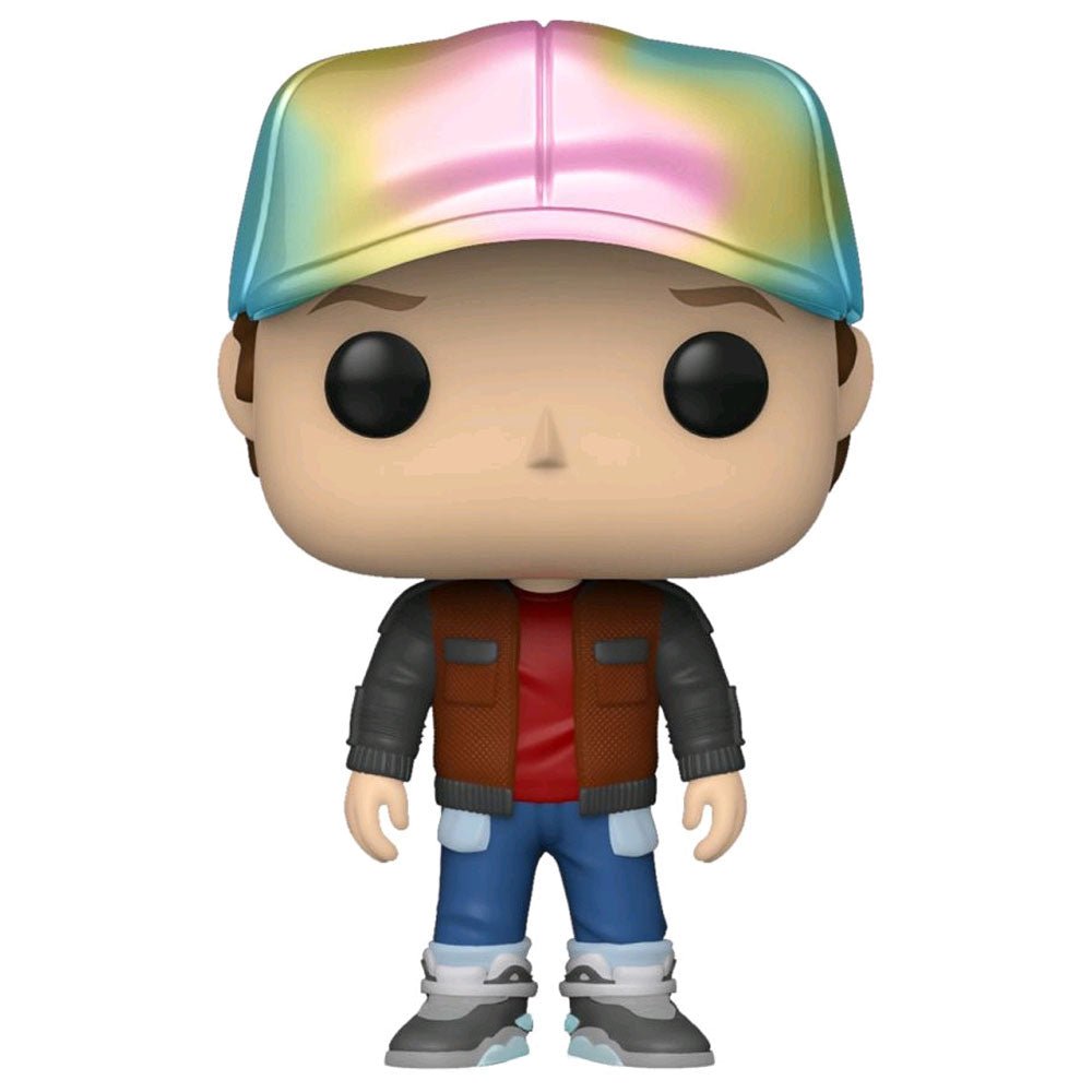Back to the Future - Future Marty Metallic US Exclusive Pop! Vinyl