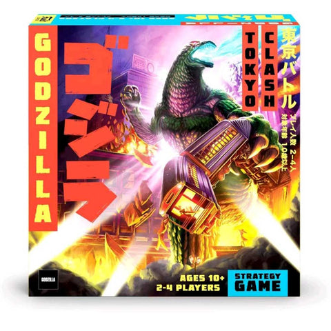 Godzilla - Super Kaiju Strategy Game