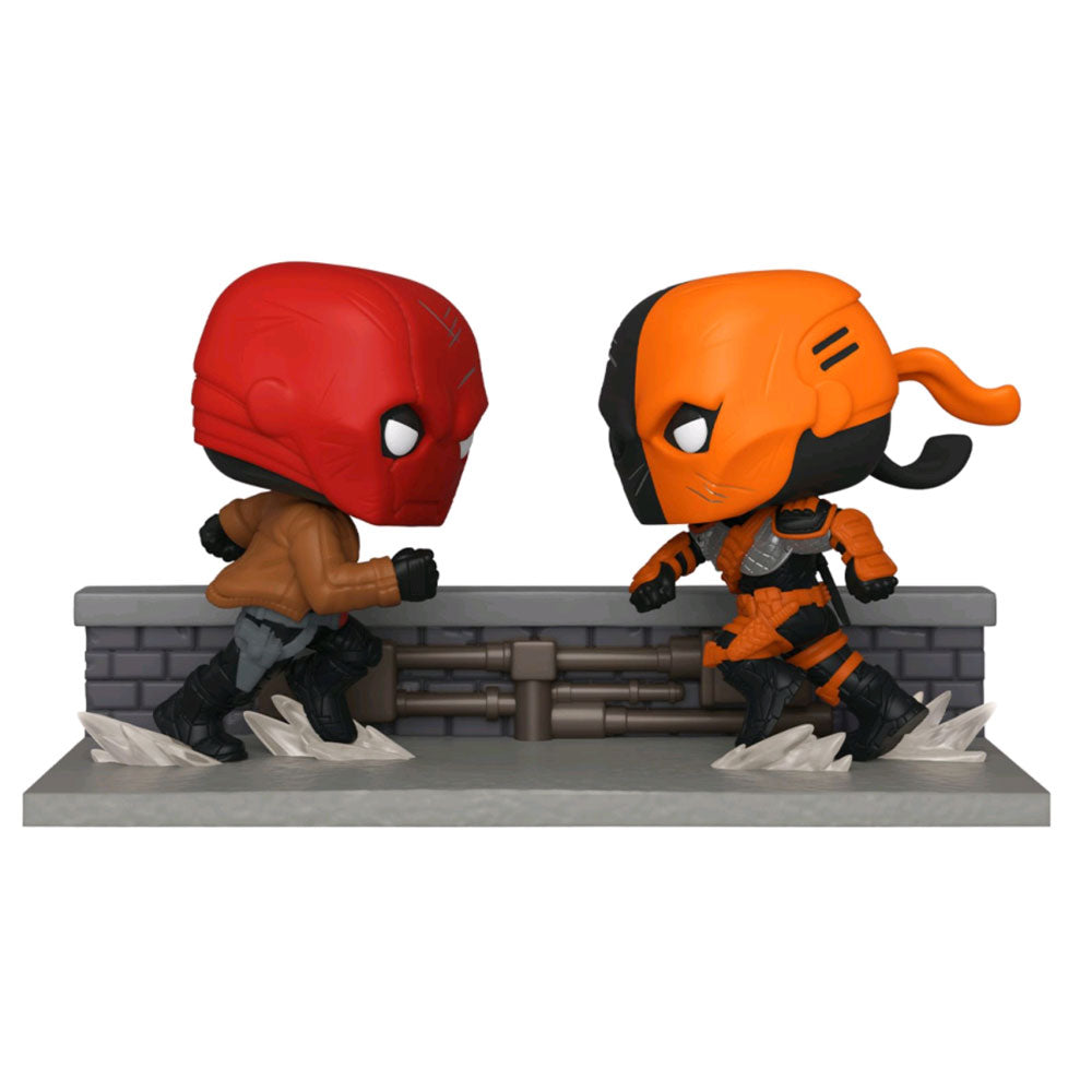 DC Comics - Red Hood vs Deathstroke Comic Moment US Exclusive Pop! Vinyl