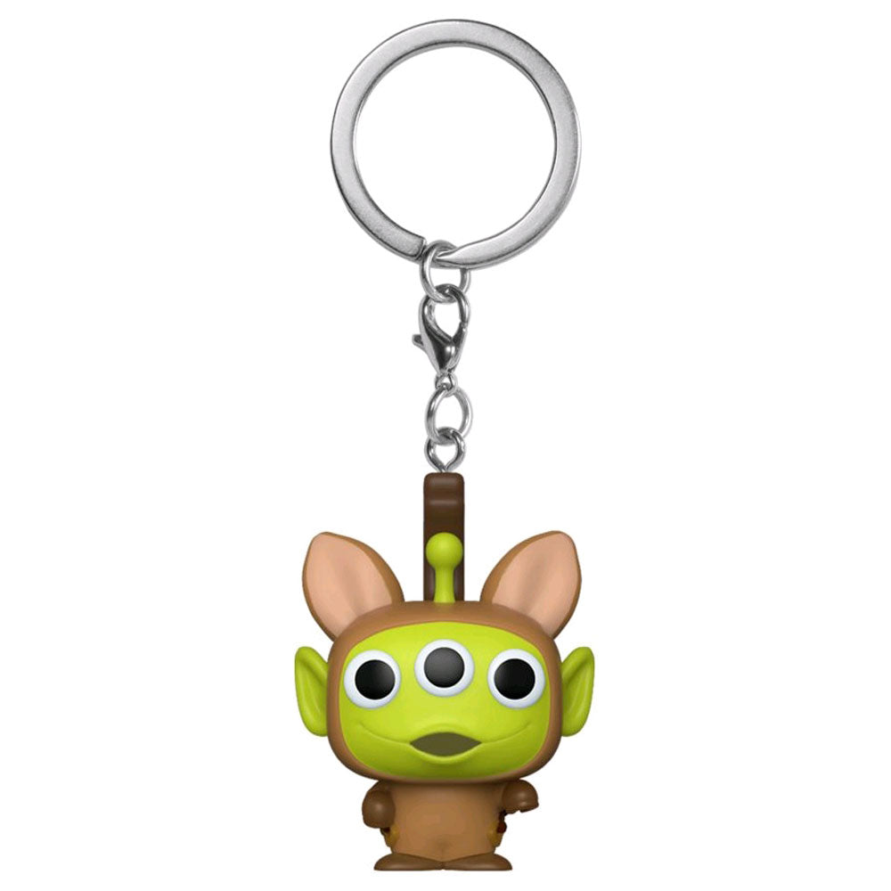 Pixar - Alien Remix Bullseye Pocket Pop! Keychain