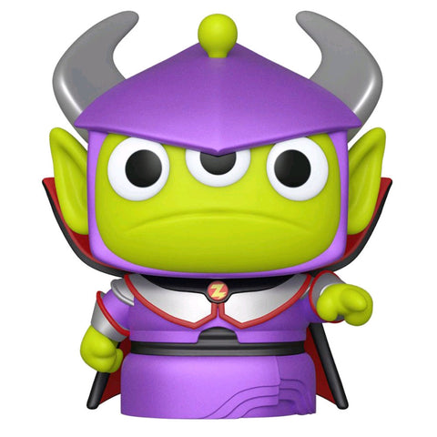 Pixar - Alien Remix Zurg Metallic US Exclusive Pop! Vinyl [RS]