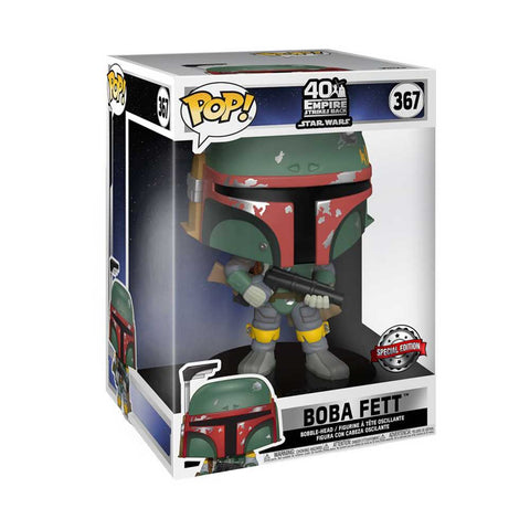 "Star Wars - Boba Fett US Exclusive 10"" Pop! Vinyl"