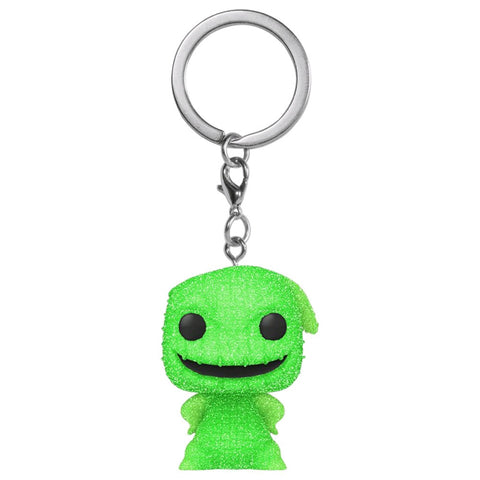 The Nightmare Before Christmas - Oogie Boogie Diamond Glitter US Exc Pocket Pop! Keychain [RS]