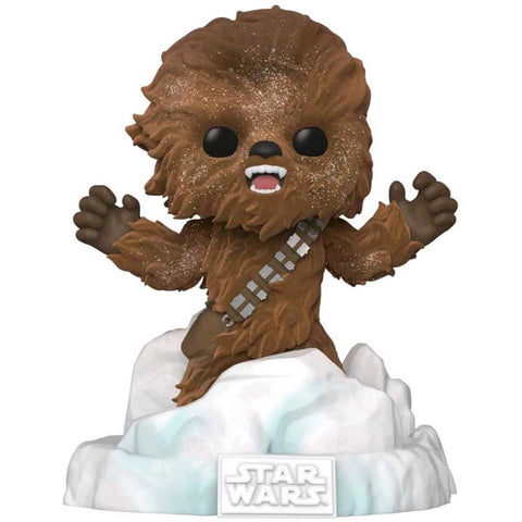 Star Wars - Chewbacca Flocked US Exclusive Pop! Deluxe Diorama