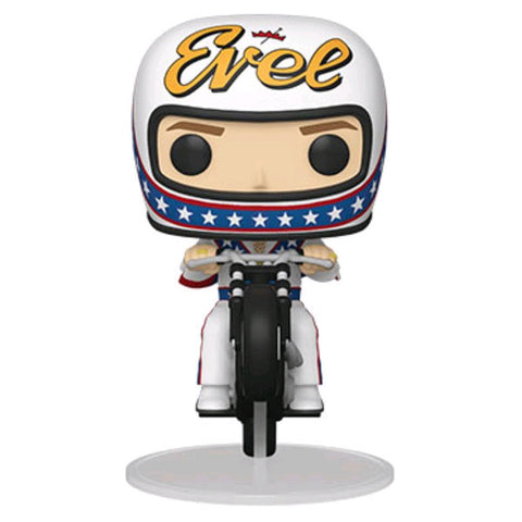 Evel Knievel - Evel Knievel Motorcycle Pop! Ride