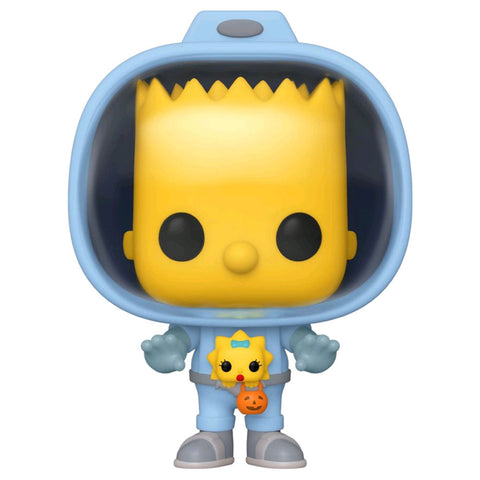 Simpsons - Bart with Chestburster Maggie Pop! Vinyl