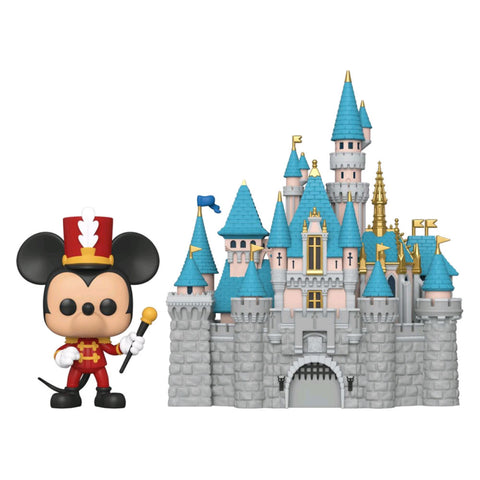 Disneyland 65th Anniversary - Mickey with Castle Pop! Town