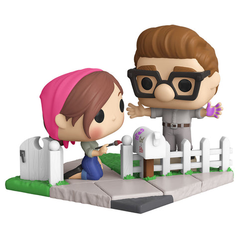 Image of NYCC 2020 Up - Carl & Ellie Movie Moment US Exclusive Pop! Vinyl