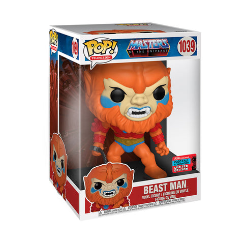 Image of NYCC 2020 Masters Of The Universe - Beast Man 10 inch US Exclusive Pop! Vinyl