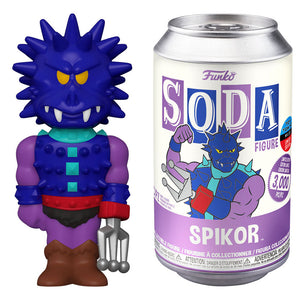 NYCC 2020 Masters Of The Universe - Spikor Toy Tokyo Exclusive Vinyl Soda