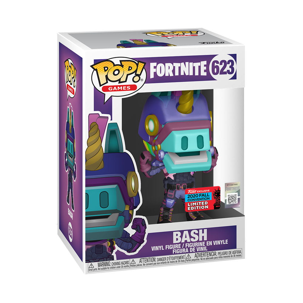 NYCC 2020 Fortnite - Bash US Exclusive Pop! Vinyl