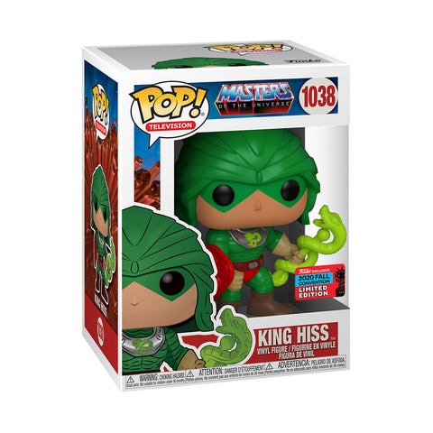 Image of NYCC 2020 Masters Of The Universe - King Hiss US Exclusive Pop! Vinyl