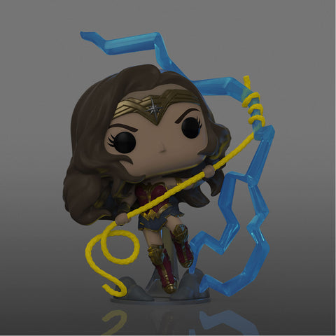 Image of NYCC 2020 Wonder Woman 2 - Wonder Woman Lightning GW US Exclusive Pop! Vinyl