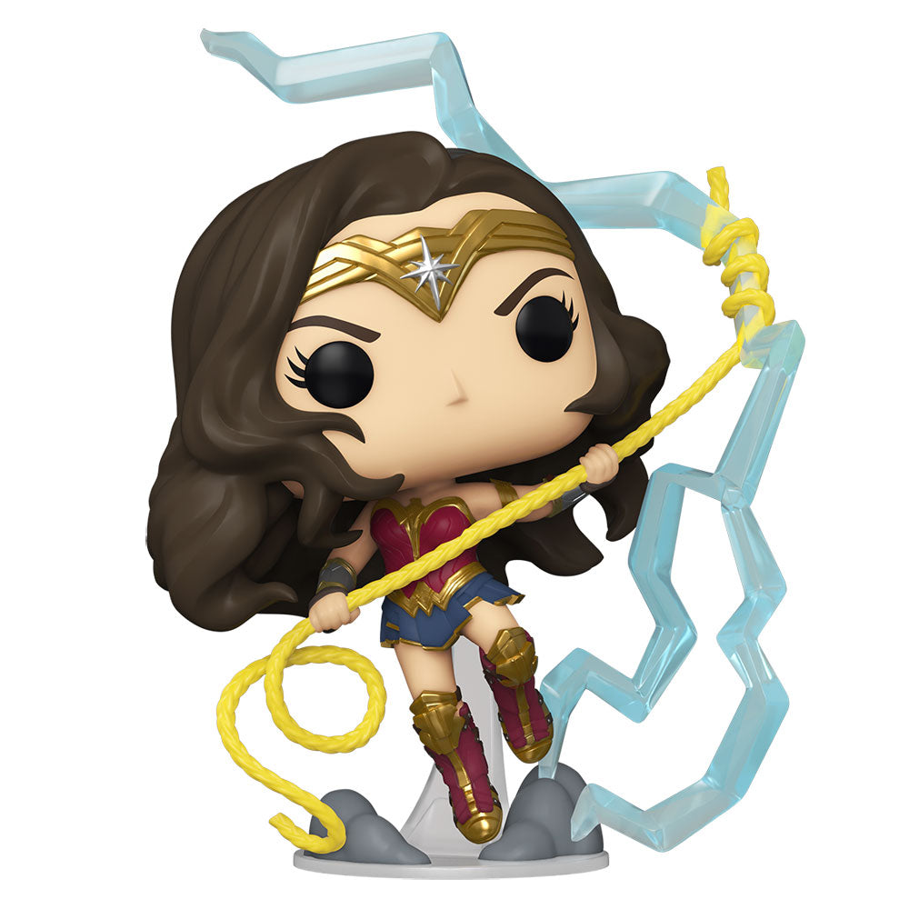 NYCC 2020 Wonder Woman 2 - Wonder Woman Lightning GW US Exclusive Pop! Vinyl