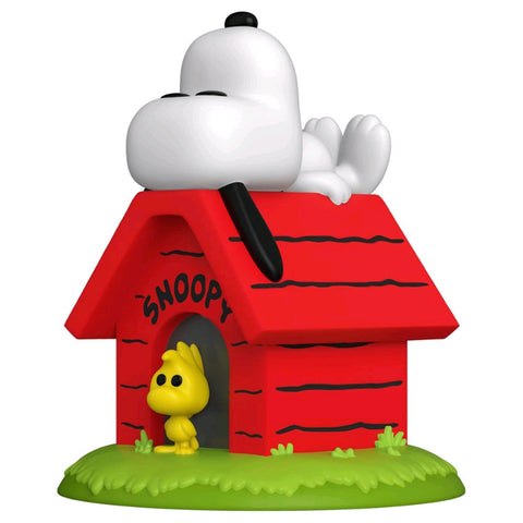 Peanuts - Snoopy on Doghouse Pop! Deluxe