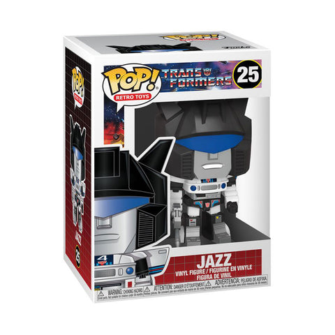 Image of Transformers - Jazz Pop! Vinyl