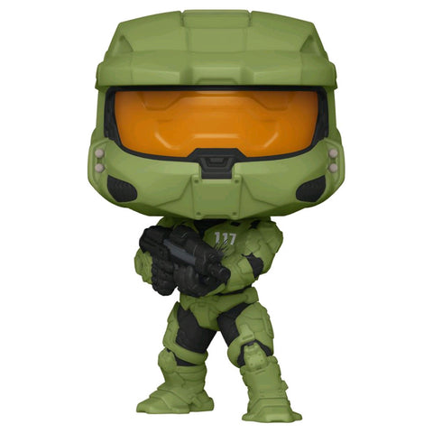 Image of Halo Infinite - Master Chief with MA40 Assault Rifle Pop! Vinyl