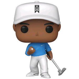 Golf - Tiger Woods Blue Shirt US Exclusive Pop! Vinyl