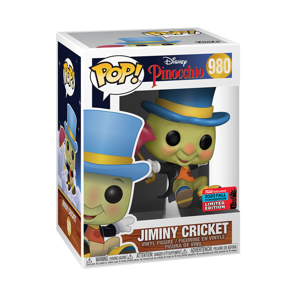 NYCC 2020 Pinocchio - Jiminy Cricket Floating US Exclusive Pop! Vinyl