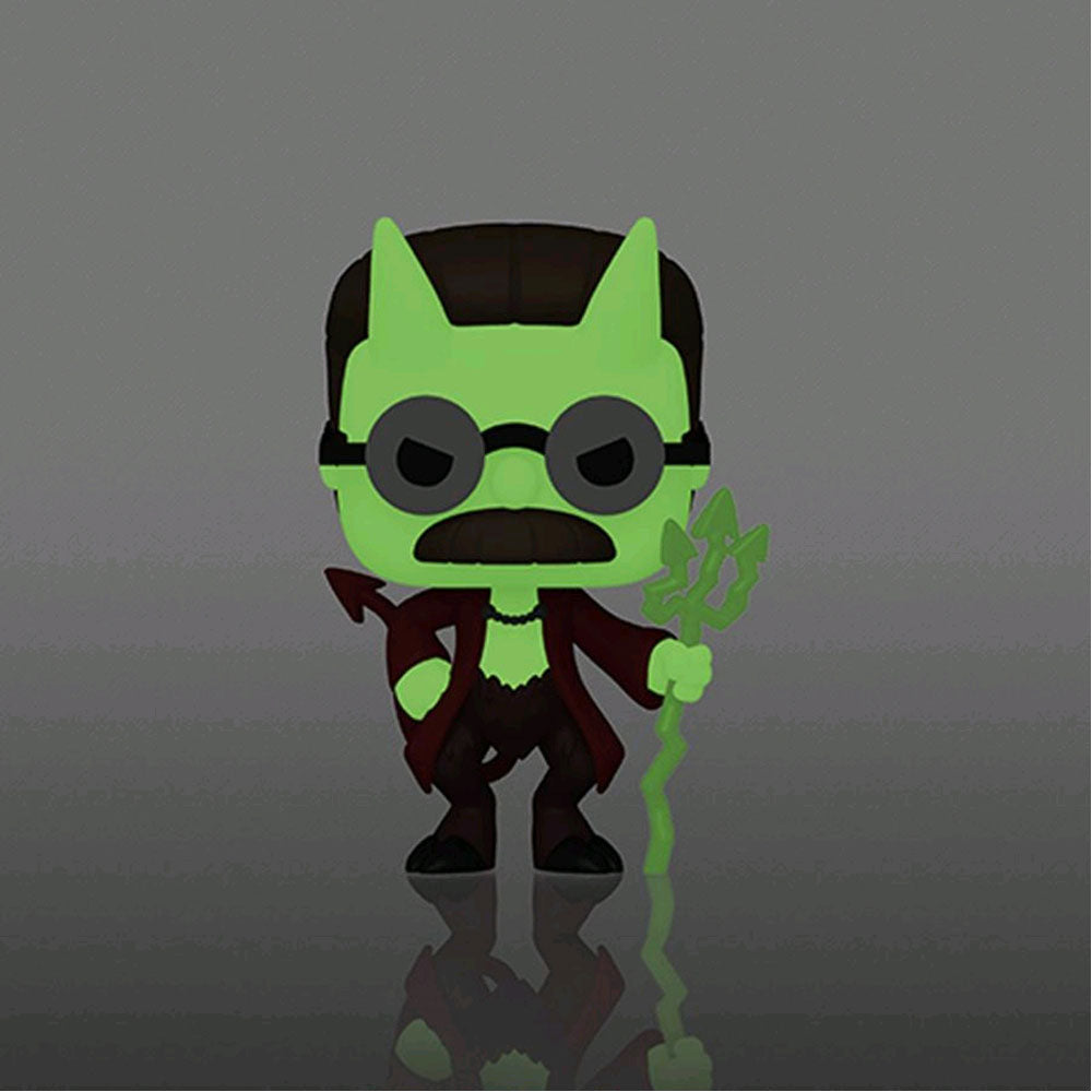 Simpsons - Flanders Devil Glow US Exclusive Pop! Vinyl