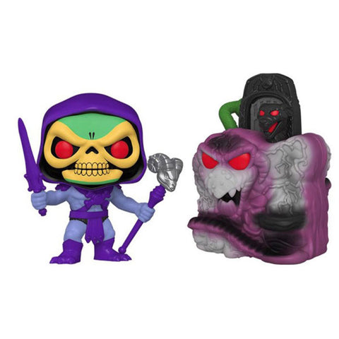 Image of Masters of the Universe - Snake Mountain with Skeletor Pop! Town