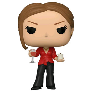The Office - Jan with Wine & Candle Pop! Vinyl