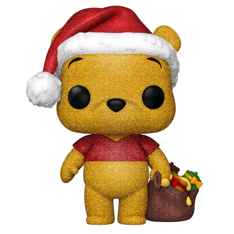 Winnie the Pooh - Pooh Diamond Glitter Holiday US Exclusive Pop! Vinyl [RS]