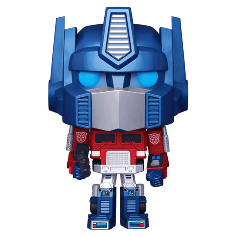 Transformers - Optimus Prime Metallic US Exclusive Pop! Vinyl