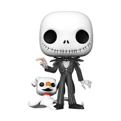"Image of The Nightmare Before Christmas - Jack with Zero Glow US Exclusive 10"" Pop! Vinyl"