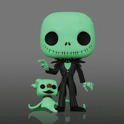 "The Nightmare Before Christmas - Jack with Zero Glow US Exclusive 10"" Pop! Vinyl"