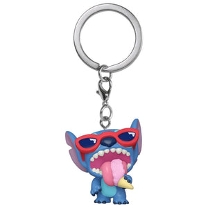 Lilo & Stitch - Stitch Summer Sented US Exclusive Pocket Pop! Keychain