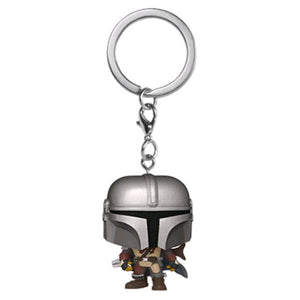 Star Wars: The Mandalorian - Mandalorian Pocket Pop! Keychain