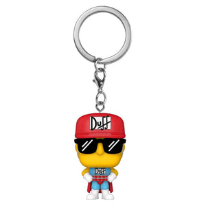 The Simpsons - Duffman Pocket Pop! Keychain